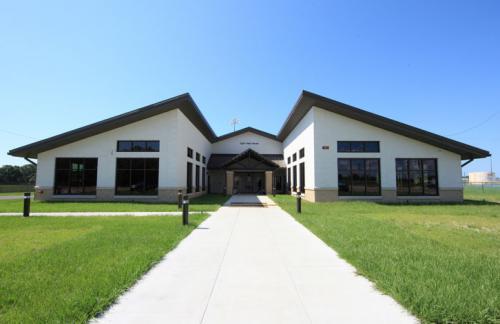 BRAC Fitness Center Exterior Complete